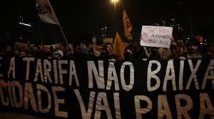 Manifestação em São Paulo, junho 2013