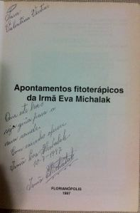 Apontamento Fitoterápicos de Irmã Eva Michalak